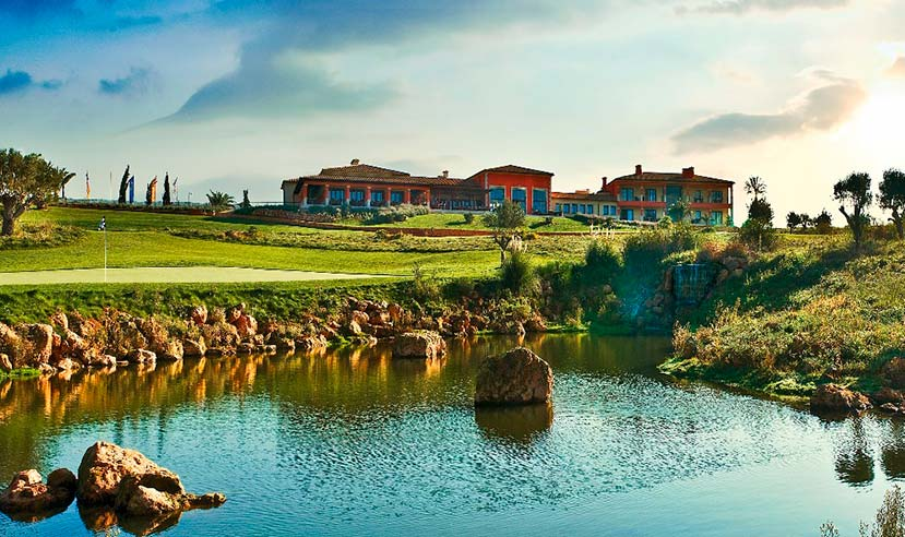 mallorca golf son gual mallorca green18 clubhouse