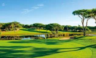 Algarve golfový klenot Portugalska